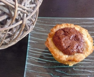 Townies ou mini tartes aux brownies au thermomix ou sans