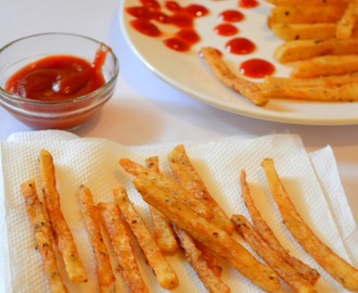 How to make Masala French Fries /  Quick Indian Healthy Recipe