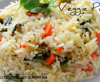 Vegetable Jeera Pulav -- 7 day Blogging Marathon