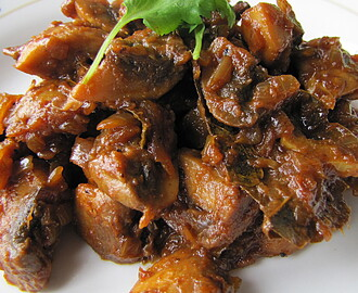 Masala Mushrooms
