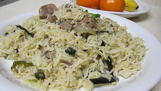 Mutton white Pulav/Pulao