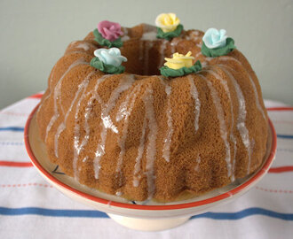 Vanilla Bundt Cake for World Baking Day