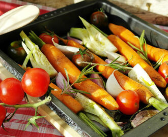 Roasting Is the New Black: Easy Roasted Vegetables