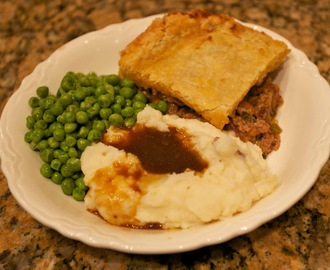 British Meat Pie, A Great Meal for a Cold Day