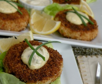 Crab Cakes with Rémoulade