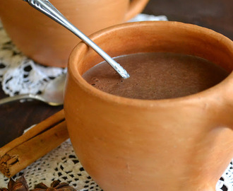 Chocolate Atole, Mexican Hot Chocolate