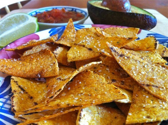 Salted Lime Baked Corn Tortillas Chips