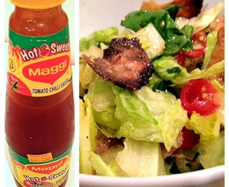 Fattoush salad with a twist