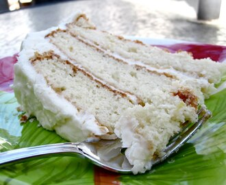 Coconut Cake with Coconut Cream Cheese Frosting