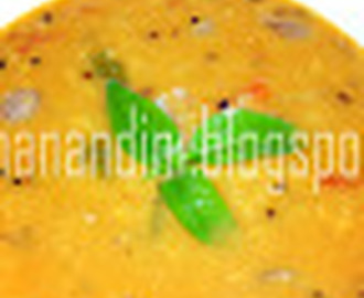 Sambar for Idli and Chickpeas Sundal