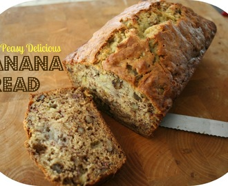 Easy Delicious Banana Bread