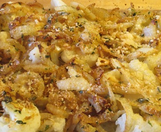 Cauliflower and Artichoke Gratin