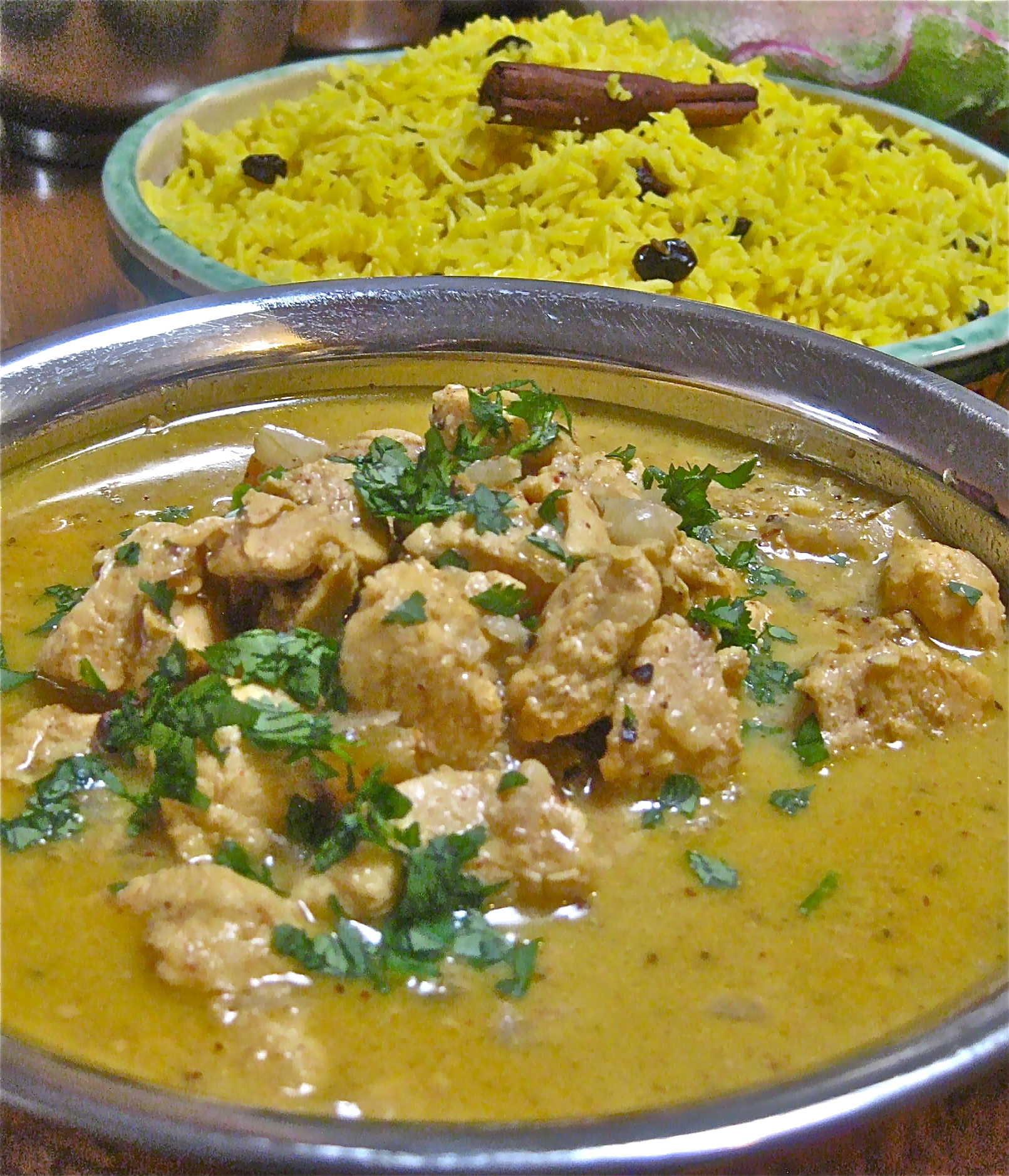 Mughlai Cuisine and a Gentle Chicken Korma
