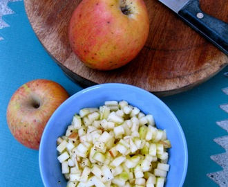 Apple Salad In 5 Minutes