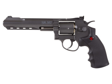 Crosman 357 Magnum Luftpistol - 4.5mm BB Sort