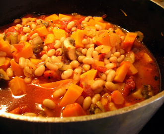 Butternut Squash and White Bean Stew