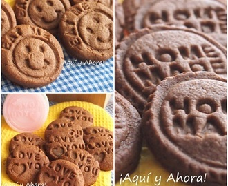 Cookies peanut butter and chocolate (Galletas de mantequilla de cacahuete y chocolate)