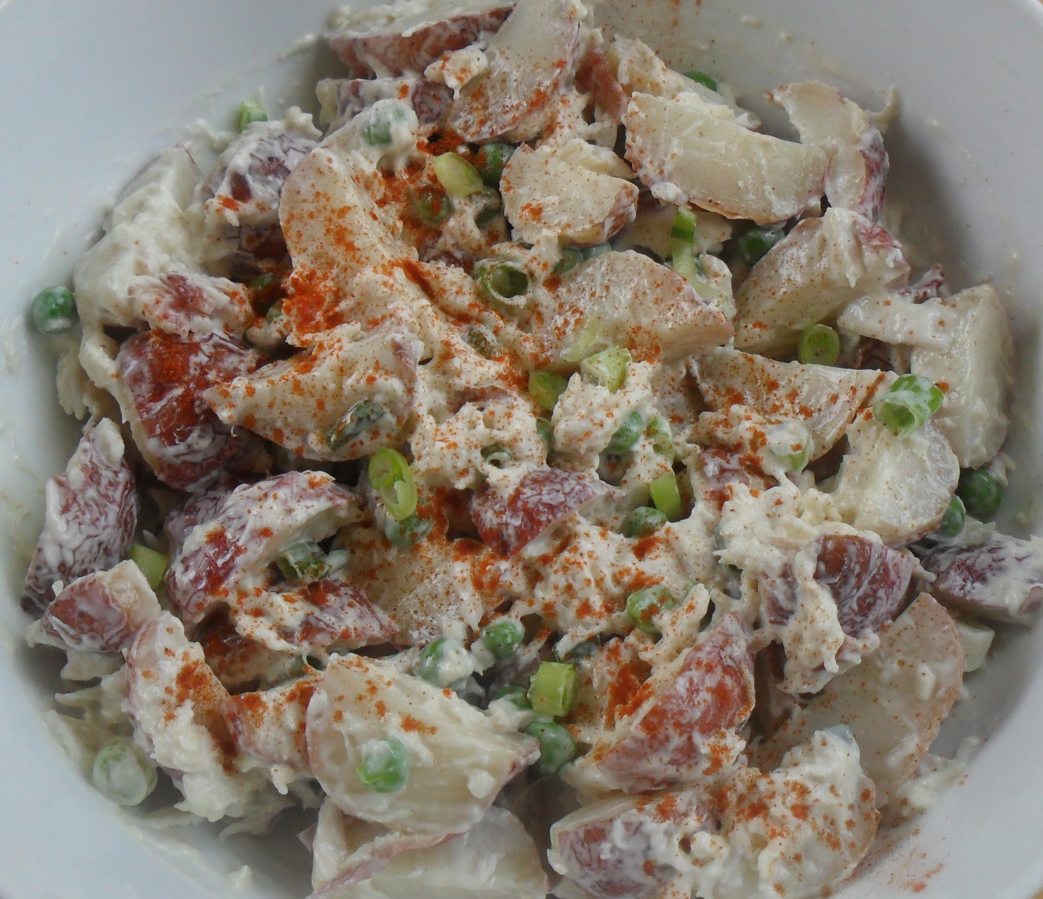 Roasted Potato & Crab Salad...A Review of the book that inspired the recipe
