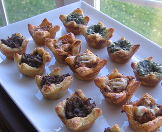 Refrigerator Challenge...Easy Puff Pastry Hors d'oeuvres