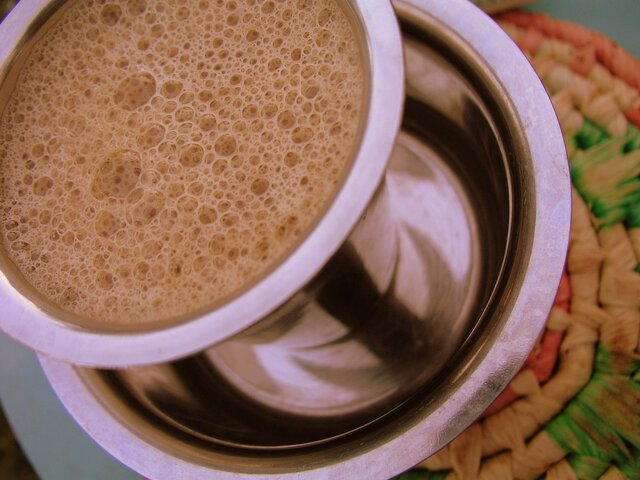 Nostalgic South Indian Coffee