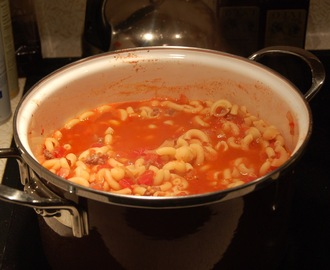 My take on Mom's version of Hungarian Goulash
