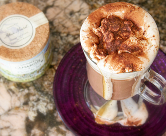 Salted Dulce de Leche Hot Chocolate