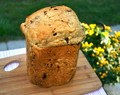 Cinnamon Raisin Bread (Bread Machine)