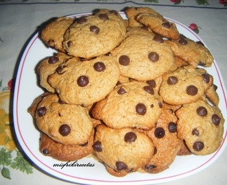 Cookies americanas (galletas tipo Chips Ahoy)