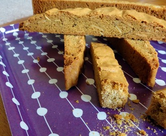 Brown Sugar Almond Biscotti