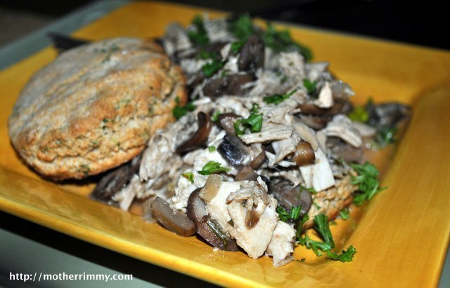 Simple Suppers Can Be Tasty Too! Easy Chicken and Mushroom Casserole