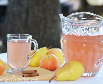 Apple Pear with Cinnamon Stick Kompot Recipe