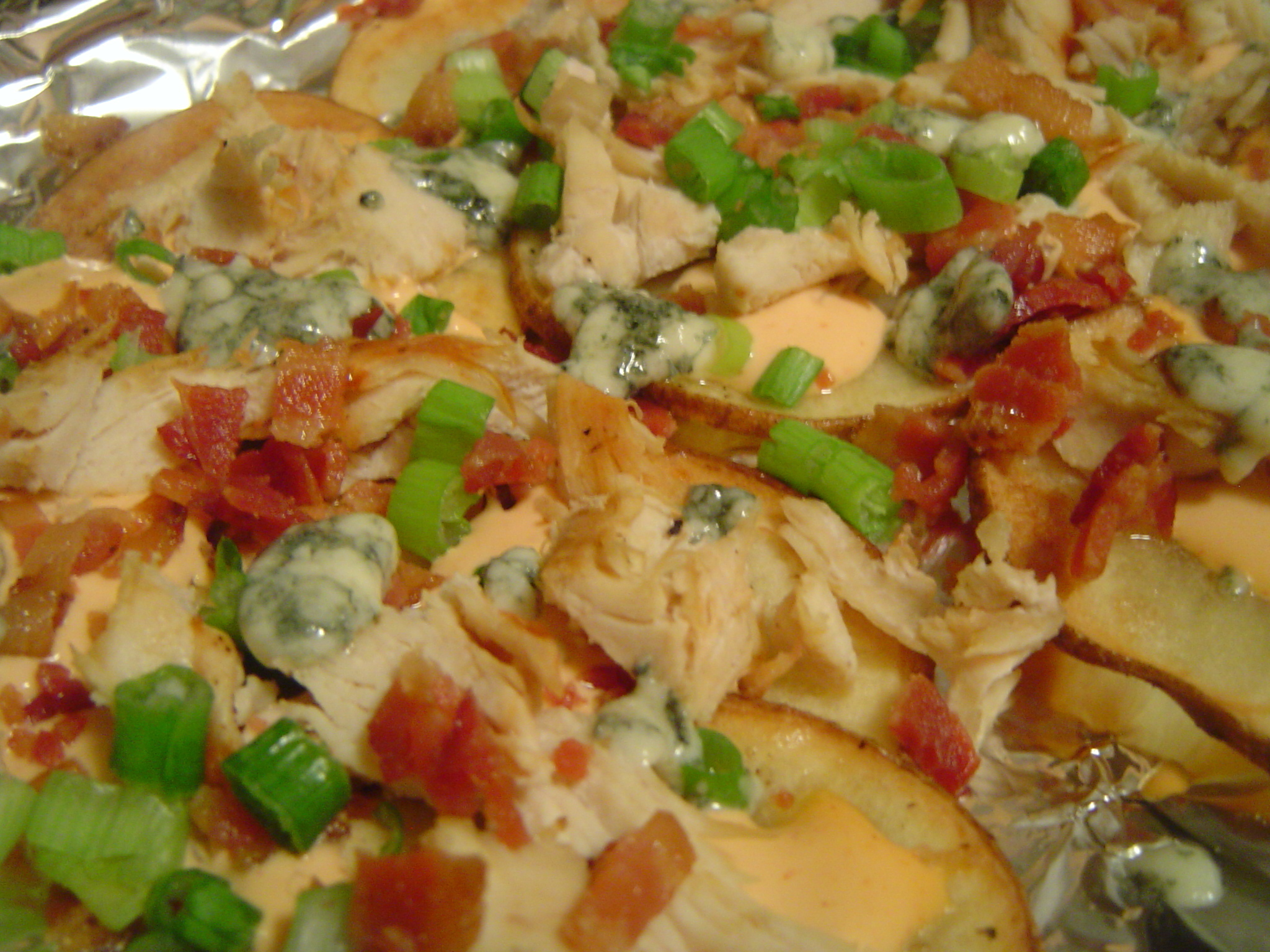 Buffalo Chicken Nacho-Style Potato Chips