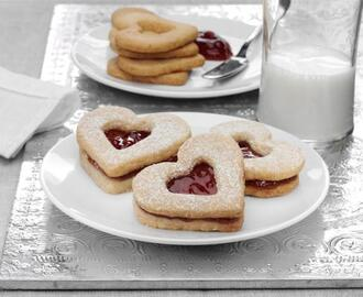 Almond Heart Cookies