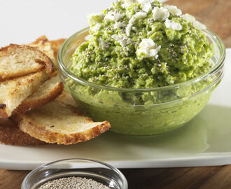 Chia Green Dip With Feta