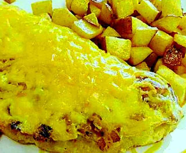 Crab Meat Omelet (Tortilla de eangrejo)