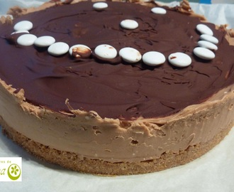 Tarta de chocolate y queso by Lorraine Pascale