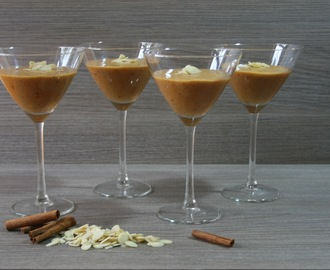Persimmon Mousse with Cinnamon/ Mousse de Diospiro com Canela