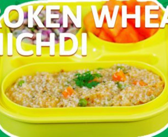 Broken Wheat Khichdi Recipe