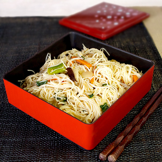 Stir fried rice noodles