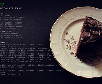 My Best Chocolate Cake