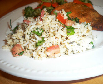 Rice Salad -  Light and Healthy 2012 Magazine