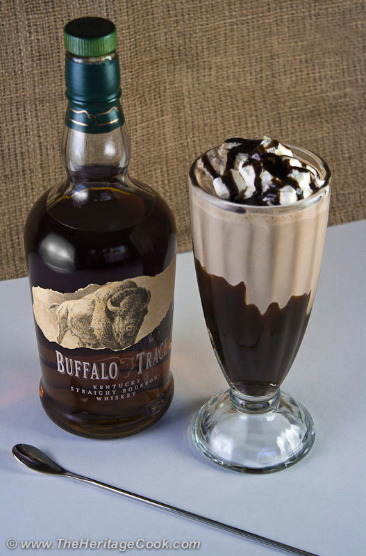 Double Chocolate Bourbon Milkshakes and Tin Barn Wine