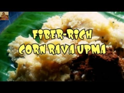 FIBRE-RICH CORN MEAL/RAVA UPMA