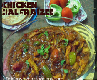 Chicken JalFraizee ~ Beloved Chicken dish of Kolkata