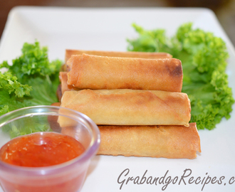 Easy Chicken Egg Roll Recipe