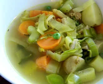 """Rule of Thirds"" Soup for a Warming #SundaySupper"