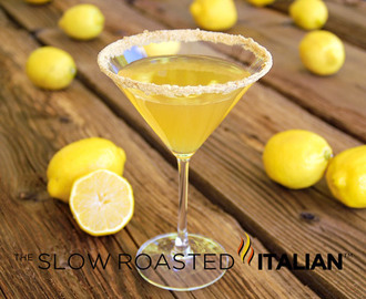 Lemon Cream Pie Martini