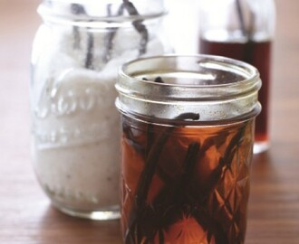 Homemade Vanilla Extract, Vanilla Sugar and More