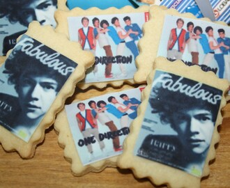 Galletas One Direction (1D) para el santo de Aina
