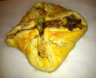 Harvest Vegetables in Puff Pastry